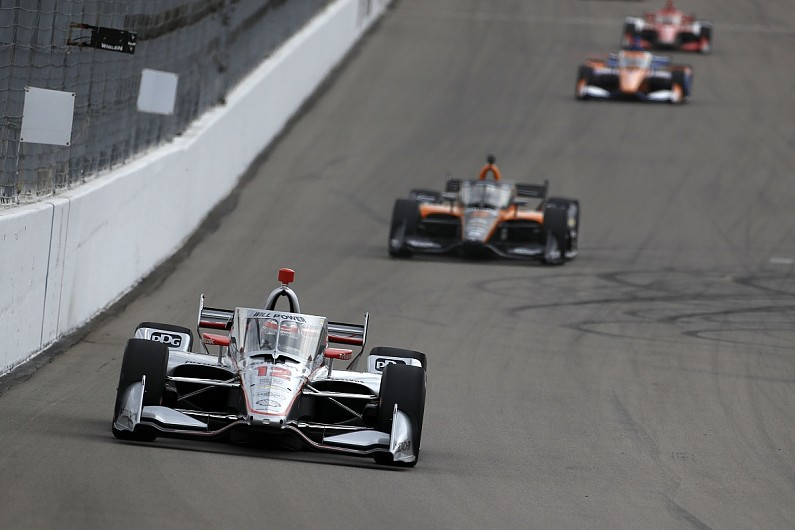 Newgarden wins the second IndyCar race of the weekend
