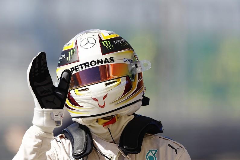 Fans to design Hamilton's 2017 helmet