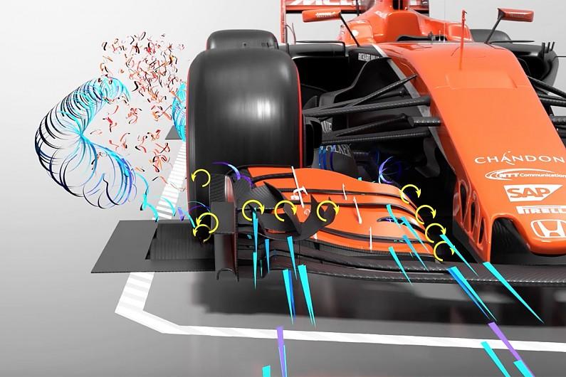 Aerodynamics On A Formula One Car Explained Part By Part