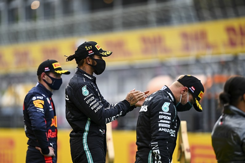 Lewis Hamilton Gave the Black Power Salute After Winning in Styria