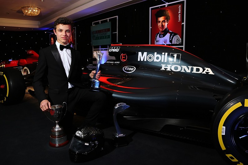 Mclaren F1 Team Signs Lando Norris To Its Junior Programme