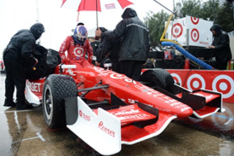 Houston Indycar Scott Dixon Given Pole After Qualifying