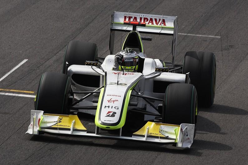 Jenson Button's title-winning Brawn F1 car joins Goodwood ...