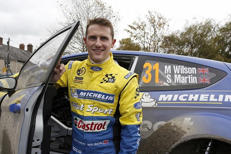 matt wilson rally driver twitter logo