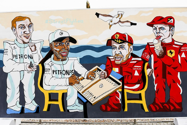 Hamilton won the fantastic  race in Baku