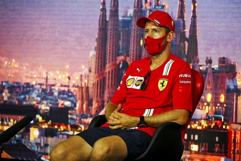 Vettel admits Ferrari 'didn't have anything to lose' in Spain