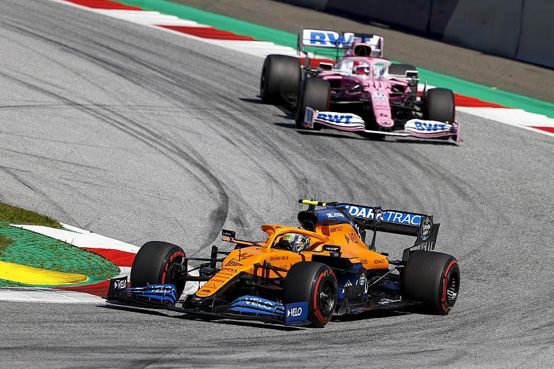 Lando Norris thought he had 'fudged' podium shot at Austrian Grand Prix