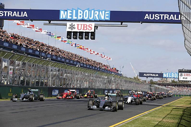 start formel 1 australien