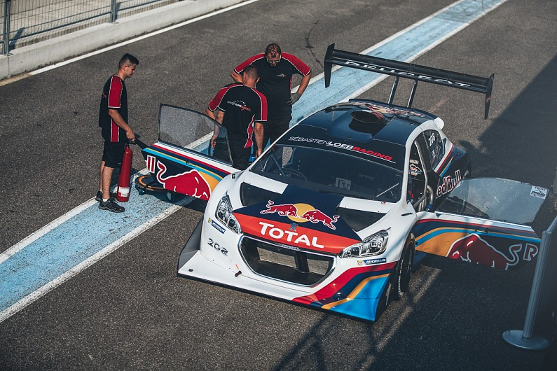 sebastien loeb receives his pikes peak peugeot 208t16 other autosport. Black Bedroom Furniture Sets. Home Design Ideas