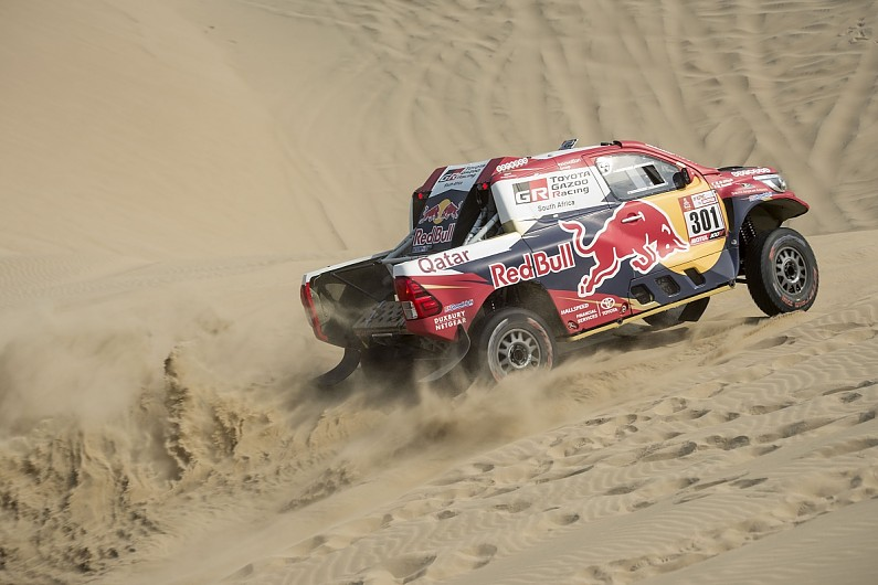 Al-Attiyah wins 3rd stage of Dakar, Peterhansel tops overall