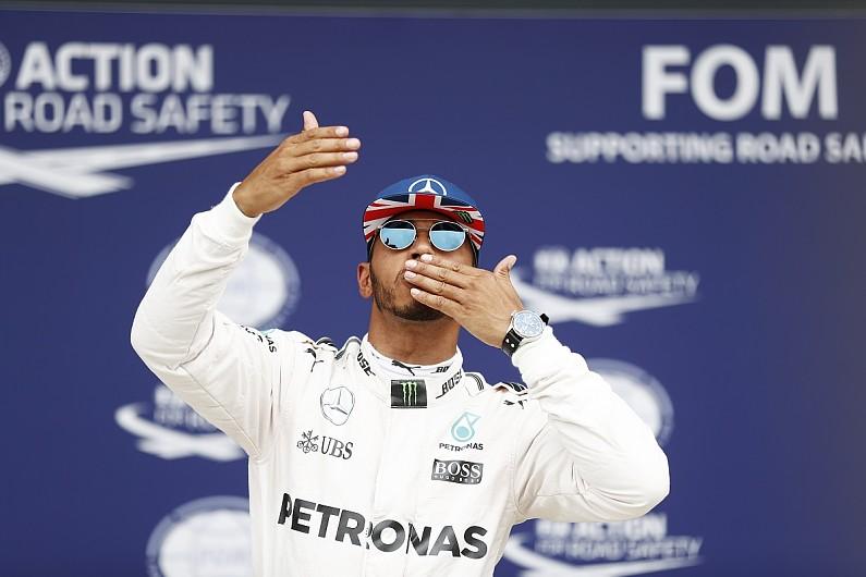 Lewis Hamilton cruises to fourth F1 British Grand Prix