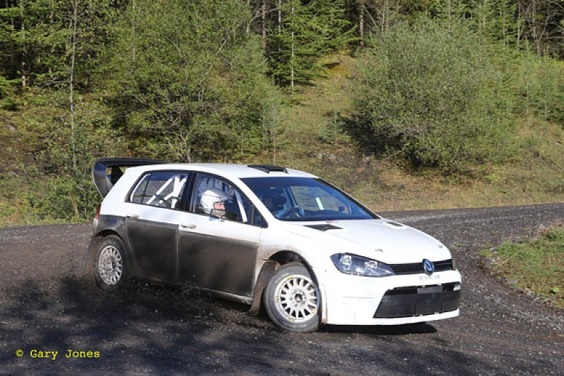 Prodrive Tests New Vw Golf Rally Car Built To Wrc Spirit