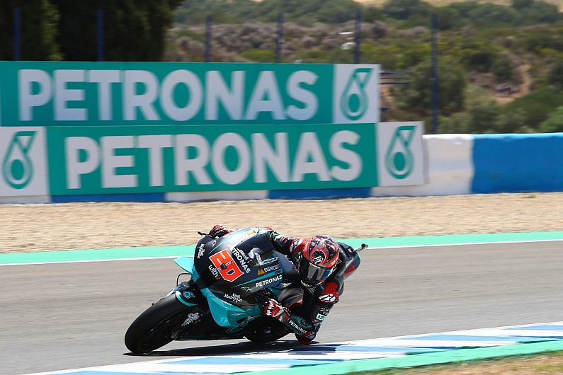 """Quartararo: """"Not correct"""" to think about title at third race"""