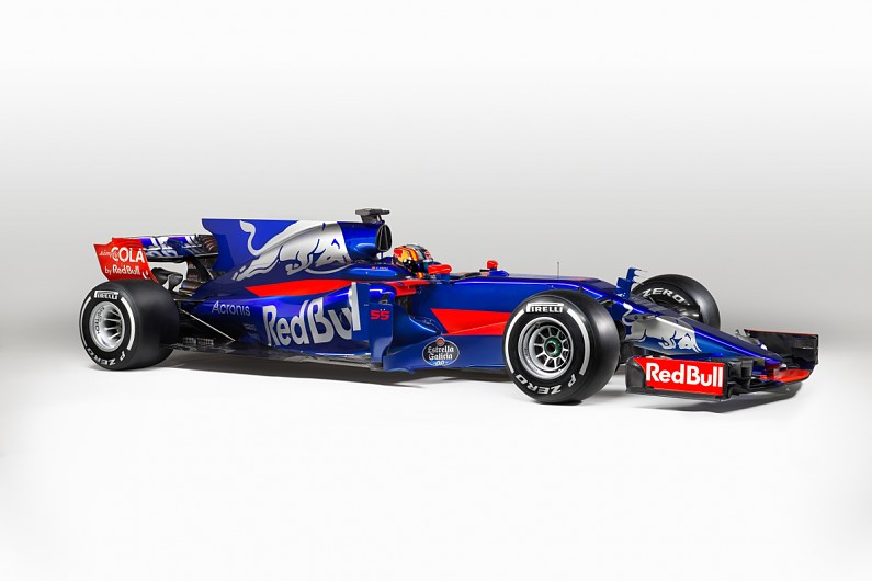 Toro Rosso Reveals New 2017 Formula 1 Car And Livery At