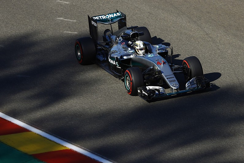 Rosberg on pole for Belgian Grand Prix