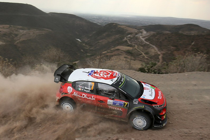 rally mexico meeke takes lead with first stage wins of. Black Bedroom Furniture Sets. Home Design Ideas