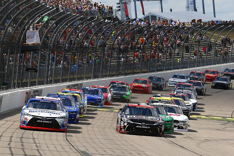 NASCAR moves overtime line to start-finish