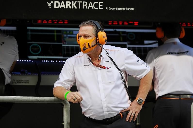 McLaren signs option for participation in Formula E
