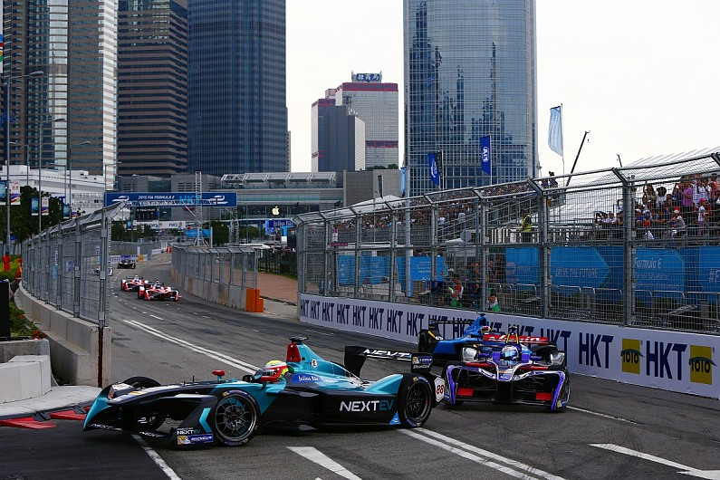 Win for Mahindra Racing in Hong Kong ePrix