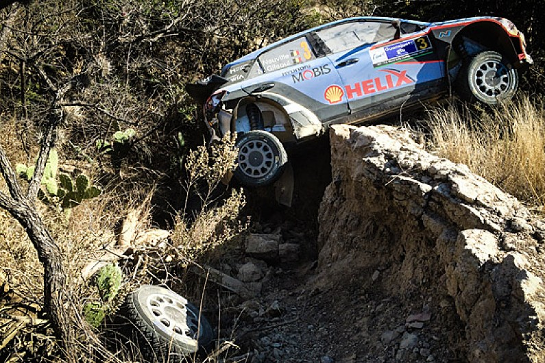 hyundai criticises thierry neuville for wrc rally mexico crash wrc autosport. Black Bedroom Furniture Sets. Home Design Ideas
