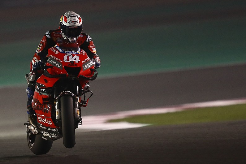 Dovizioso suffers broken collarbone in motocross crash ahead of MotoGP season start