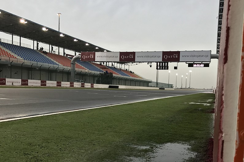 Additional Qatar MotoGP tracktime for riders to assess wet circuit.... : All news - Autosport ...