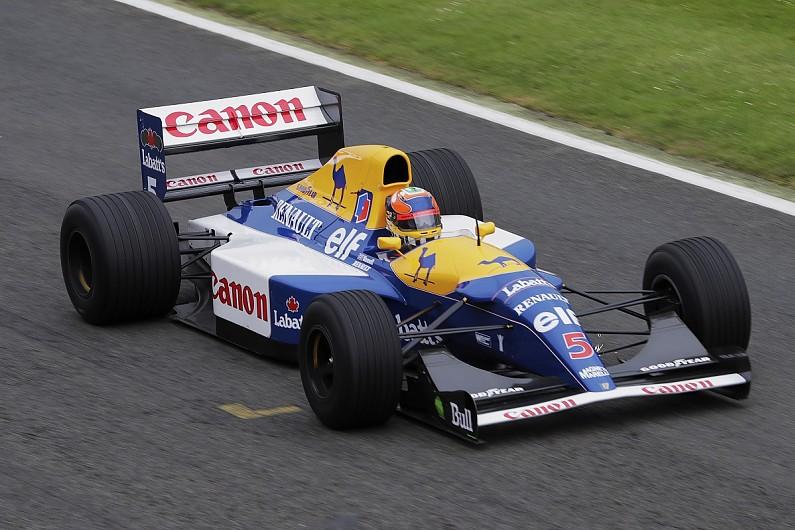 Nigel Mansell's 1992 Williams FW14B to run at Silverstone Classic - Historics - Autosport