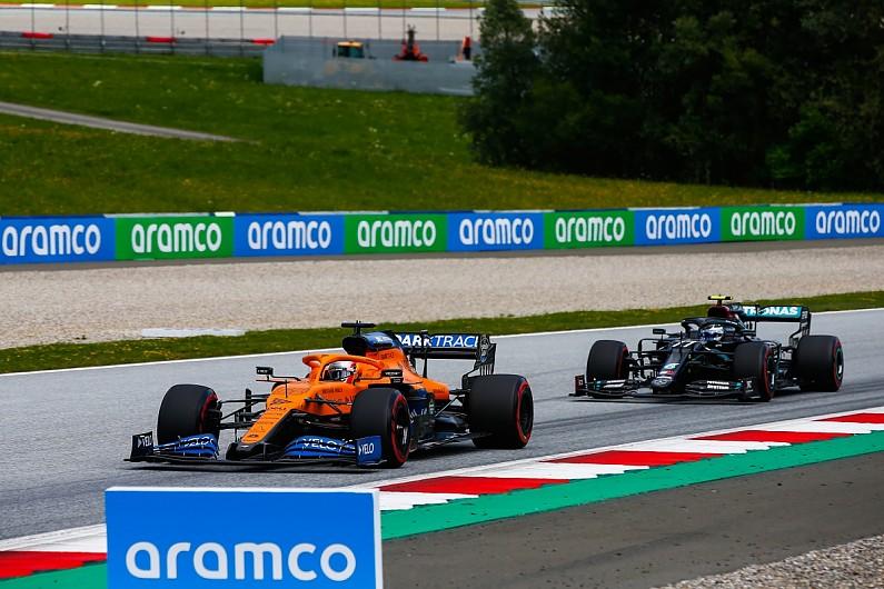Hamilton raises fist after Styrian GP win
