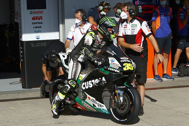 """Andalusia MotoGP: Injured Rins """"super proud"""" to finish """"unbelievable"""" second Jerez race"""