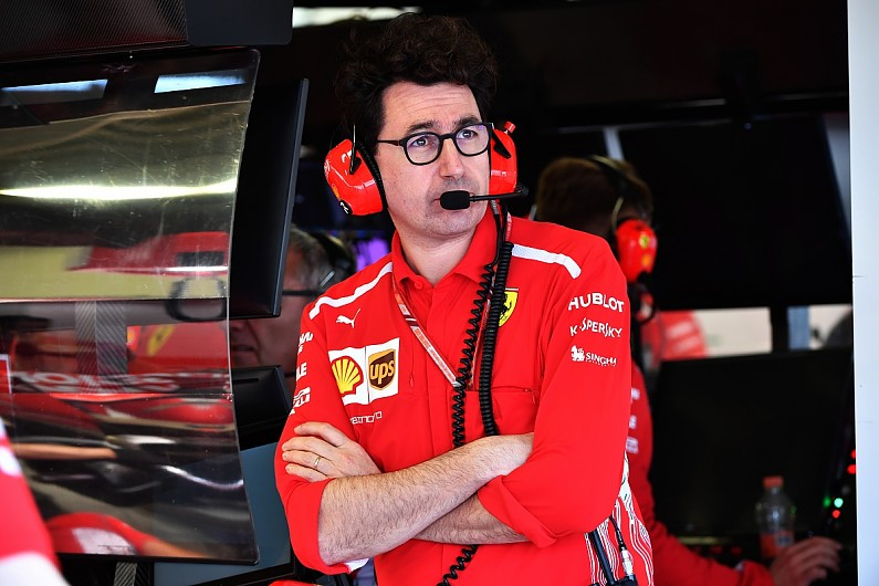 Binotto replaces Arrivabene as Ferrari boss
