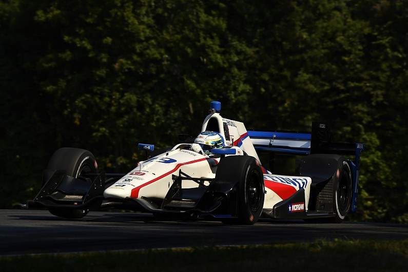 Dixon wins IndyCar race at Watkins Glen; Power crashes
