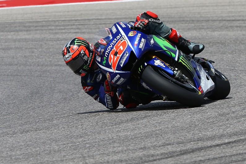 MotoGP Austin: Vinales leads FP3 as Marquez and Lorenzo fall - MotoGP - Autosport