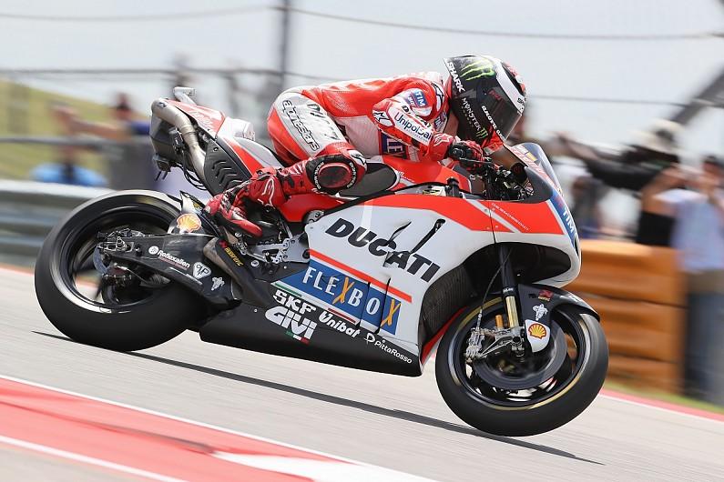 Jorge Lorenzo on Ducati