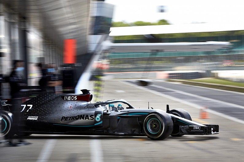The new normal as Mercedes test health protocols