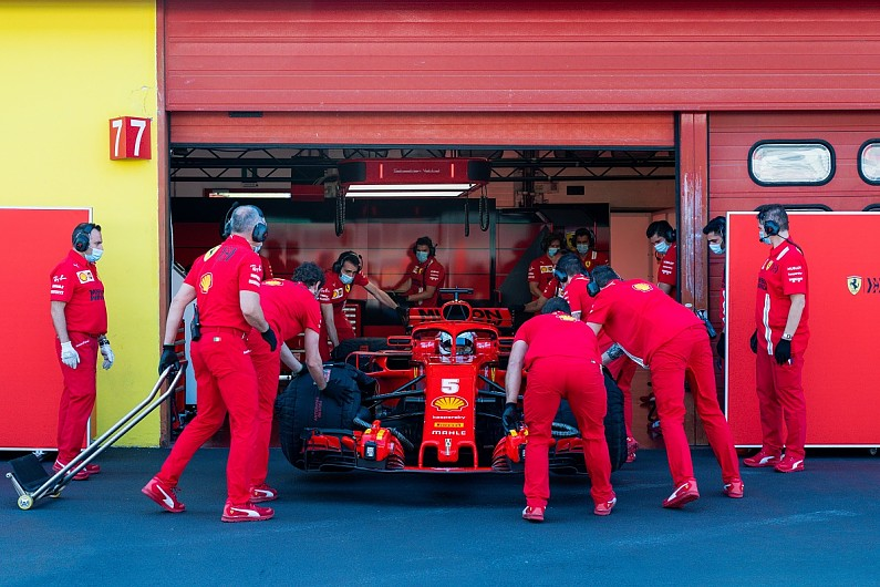 Vettel eager for F1 race at 'spectacular' Mugello after Ferrari test