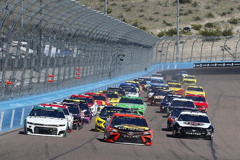 Houff excited for NASCAR's return