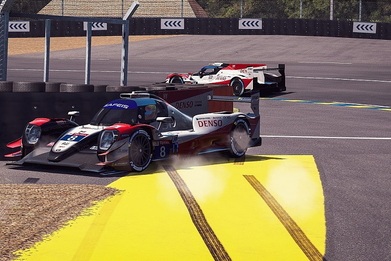 Hours of Le Mans Virtual halted after technical issues