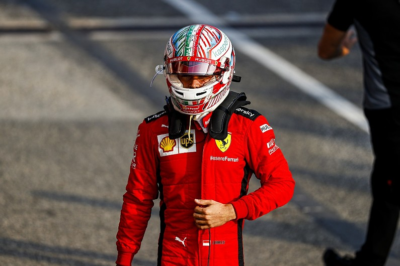 Ferrari F1 driver Leclerc tests positive for COVID-19