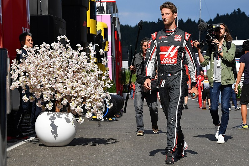 Haas celebrate 50th race with best result yet