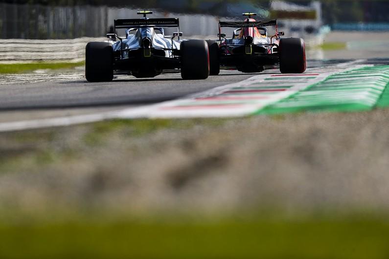 Alex Albon on first F1 podium and 'Lewis Hamilton flashbacks'
