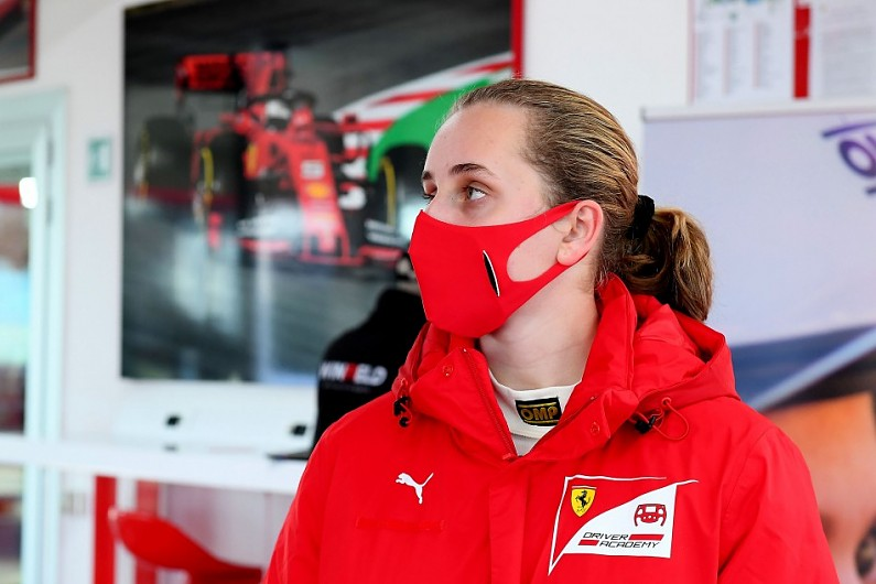 Ferrari sign up first female driver to academy