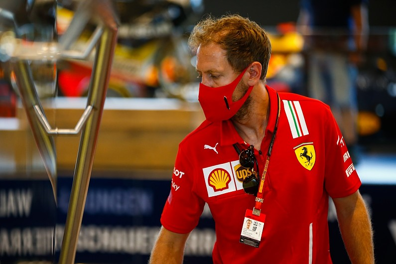 Four-time world champion Sebastian Vettel 'in talks with Aston Martin F'1