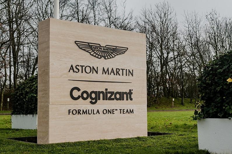 Aston Martin F1 announces Cognizant as Title Partner