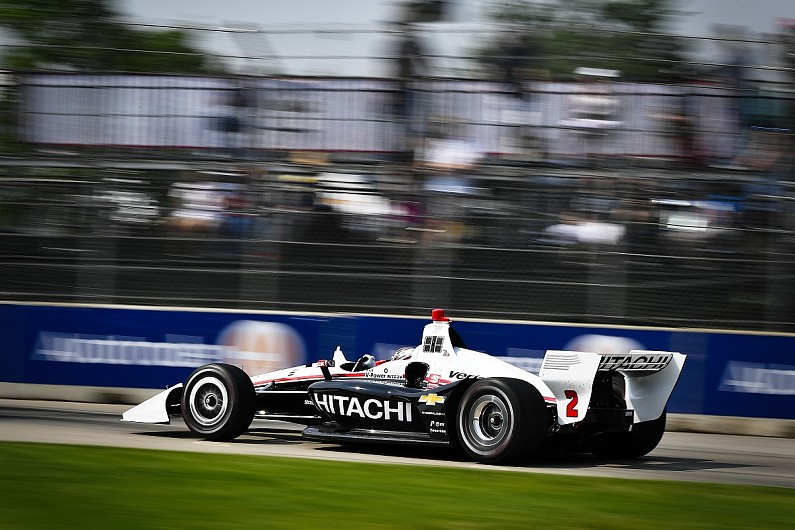 New Zealand's Dixon celebrates royal honor with IndyCar win