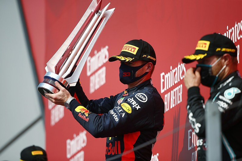 Verstappen storms to unlikely victory over Mercedes duo