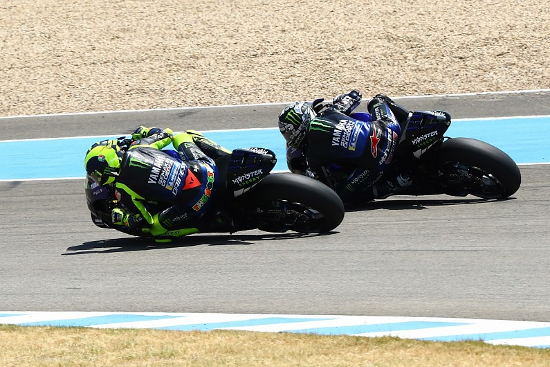 "Andalusia MotoGP: Rossi overcomes Yamaha ""politics"" in podium return"