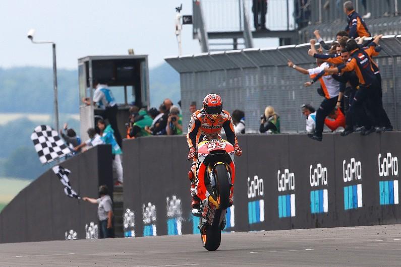 [MotoGP] 马奎斯:我没料到能带着领先进入夏休
