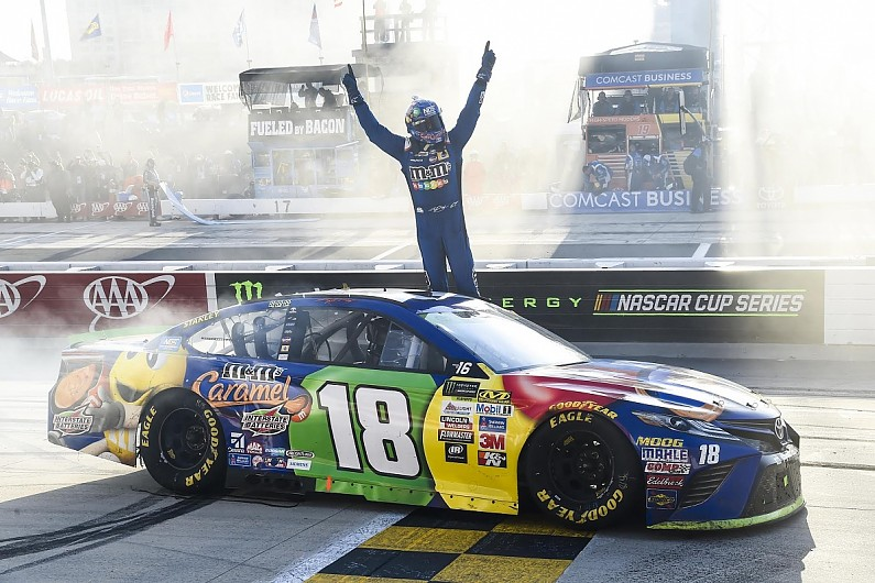 MENCS: Kyle Busch King of the Monster at Dover