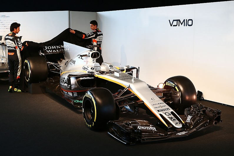 F1: Force India mostra o VJM10