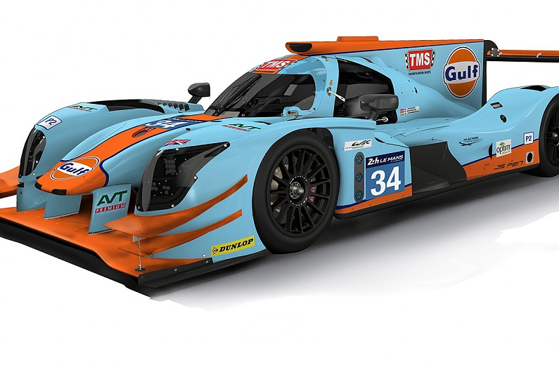 Tockwith Team To Run Gulf Oil Colours At 2017 Le Mans 24